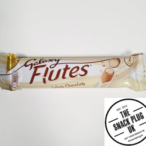 Galaxy Flutes White Chocolate 225g Snack Plug Uk