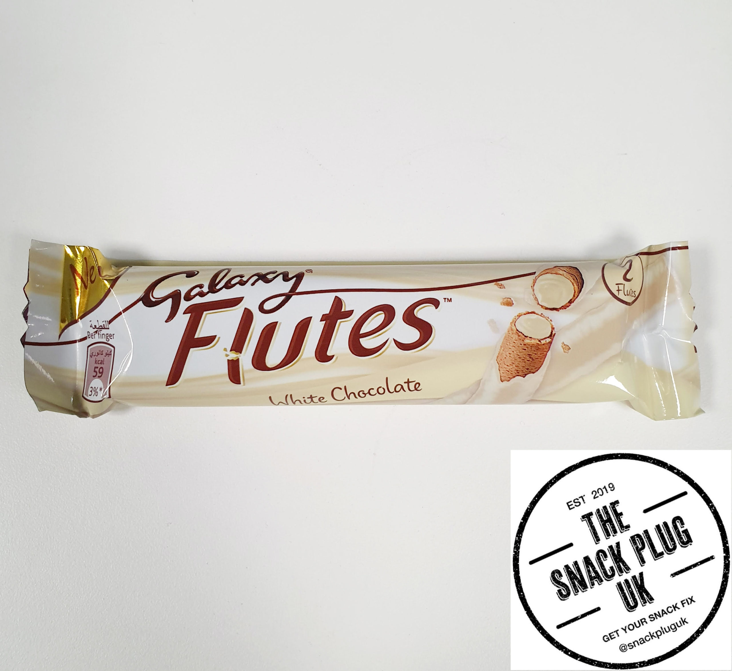 Galaxy Flutes White Chocolate 225g